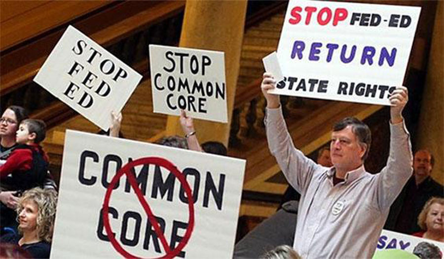 Protesting Common Core