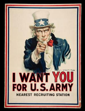Uncle Sam Wants YOU for His Army