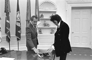 When Nixon Met Elvis (National Archives)
