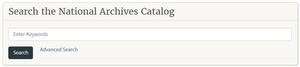 The National Archives Catalog