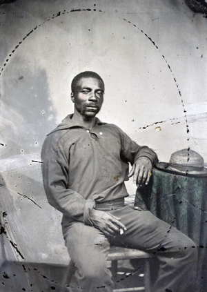 Black Men in Navy Blue During the Civil War (National Archives)